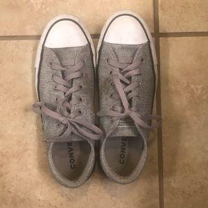 Grey Converse size 9